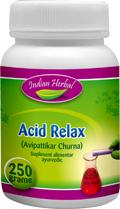 Afectiuni digestive - ACID RELAX 50g INDIAN HERBAL
